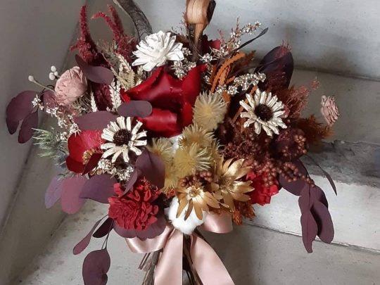 陽光灑落 乾燥花 捧花租借 乾燥花束 乾燥花課程 乾燥捧花 乾燥花製作 乾燥花diy